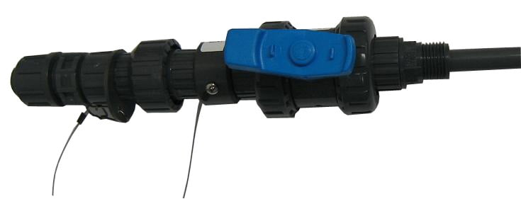 PVC withdrawable injection quill
