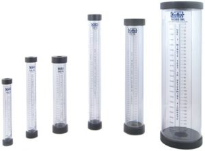 PVC calibration cylinder