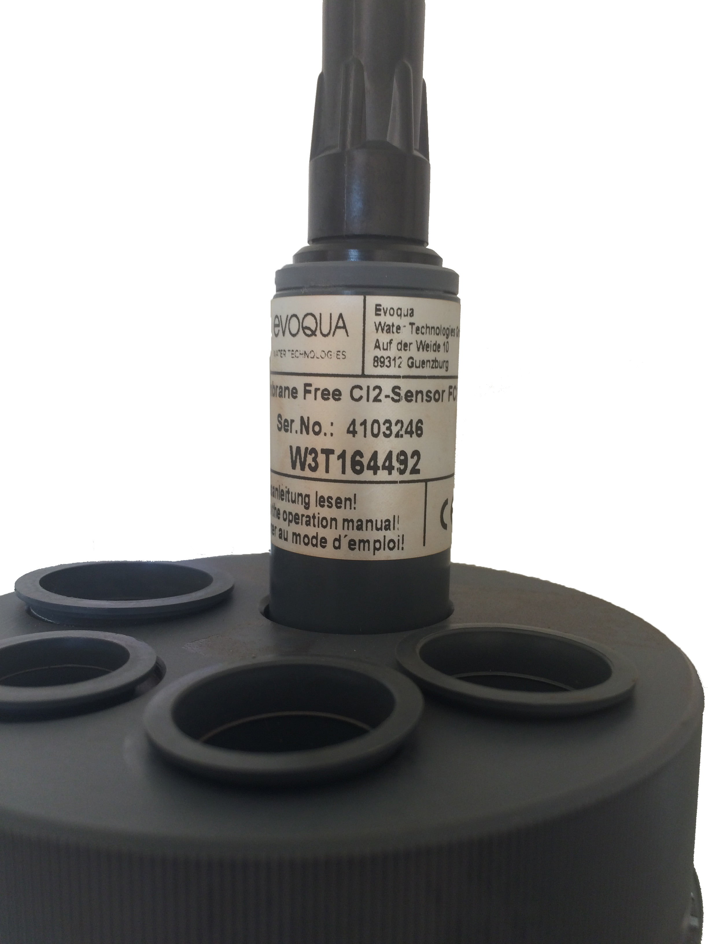Free chlorine probe