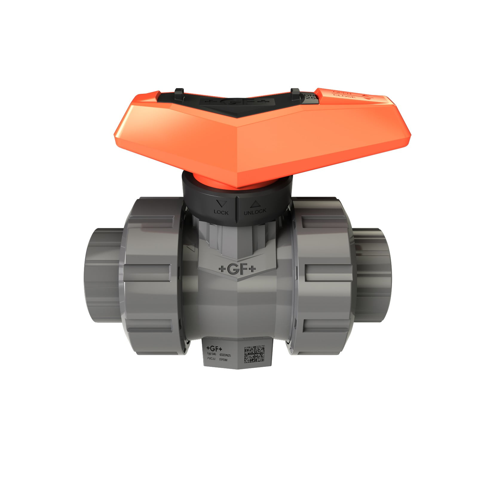 PVC ball valve type 546 PRO by GF Piping Systems