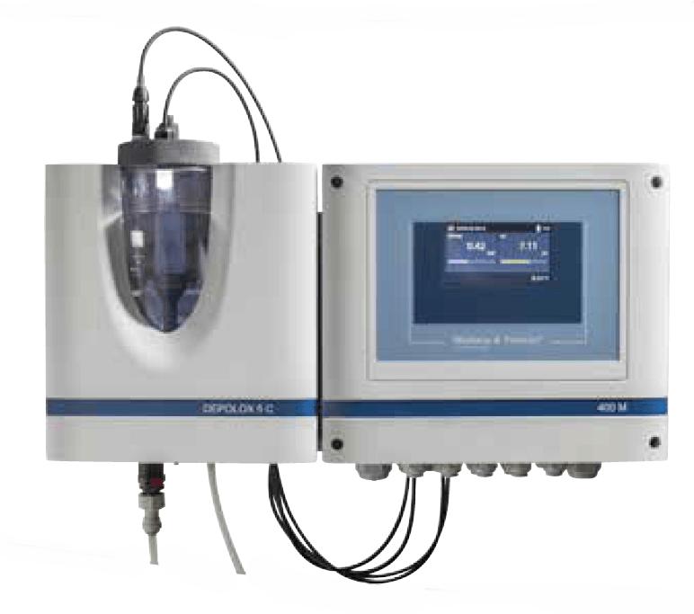 Depolox 400M chlorine analyser