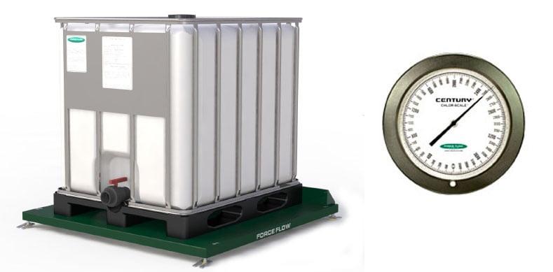 IBC Tote scale hydraulic